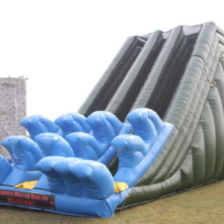 30 ft dual lane slide