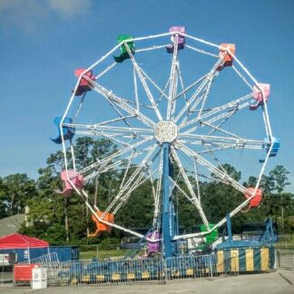 Large Ferris Wheel Carnival Ride