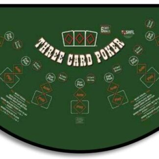 Three card poker table rental houston