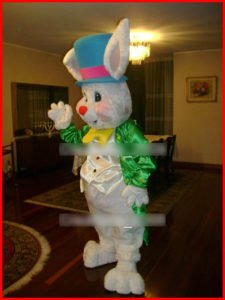 easter bunny costumed character