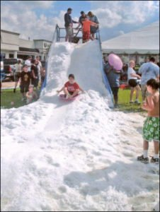 snow slide for rent