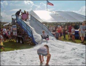 snow slide rental