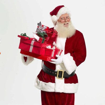 Real Beard Santa Rental