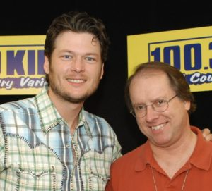 DJ Chad with Blake Shelton