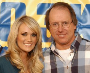 DJ Chad with Carrie Underwood
