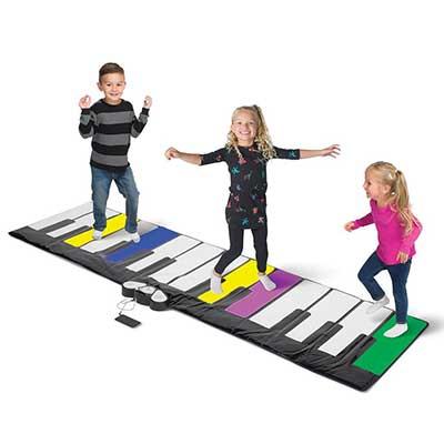 kids step lightup keyboard musical