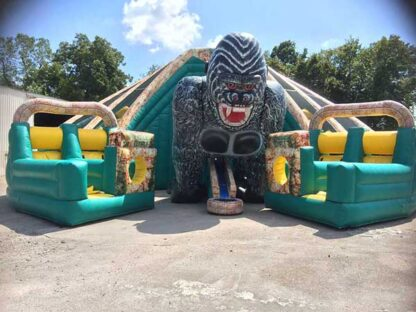 Monster large obstacle course temple of doom