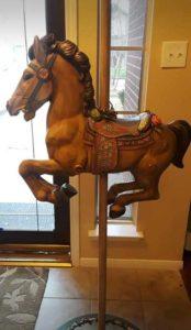 6 ft carousel horse decor