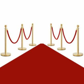 stanchions red carpet step repeat