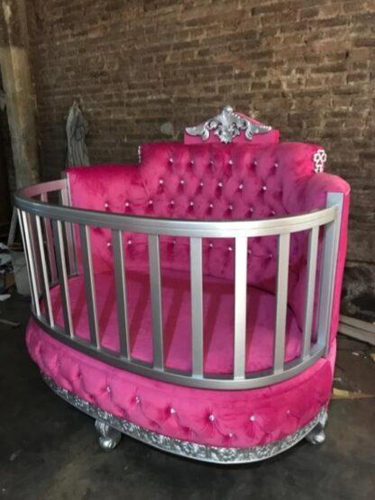 throne crib side view