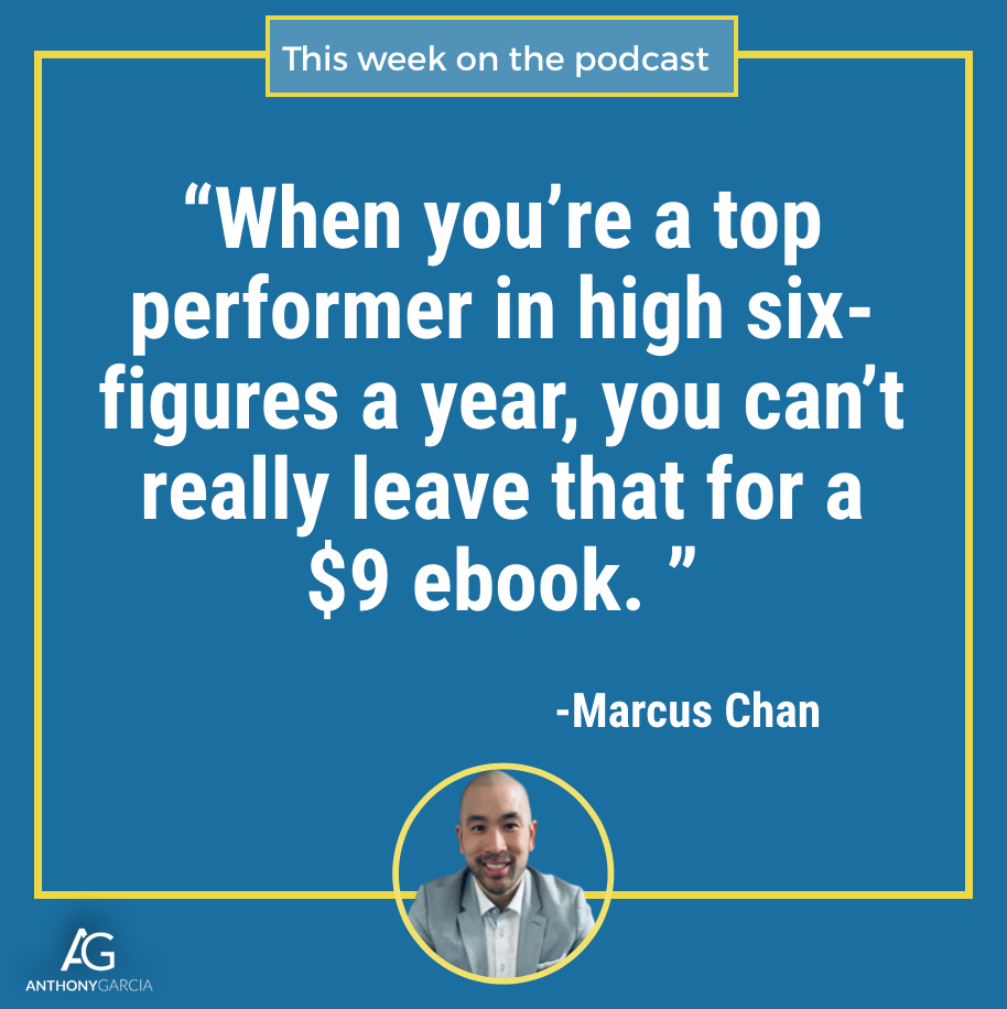 Marcus Chan on the Catapulting Commissions podcast