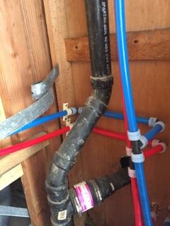 Whole house re-pipe