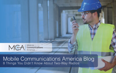 8 Things You May Not Know About Two-Way Radios