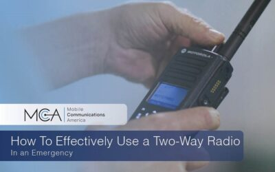 How To Effectively Use a Two-Way Radio in an Emergency