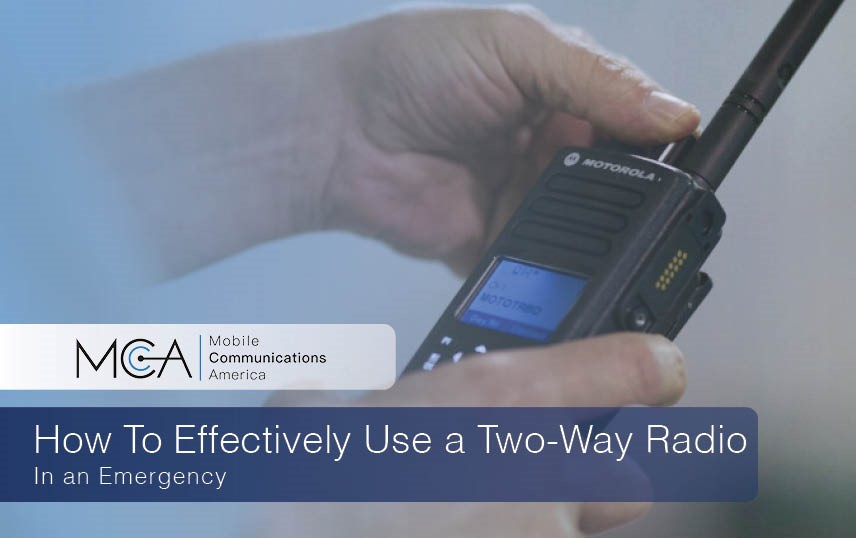 How to Use a Radio in an Emergency