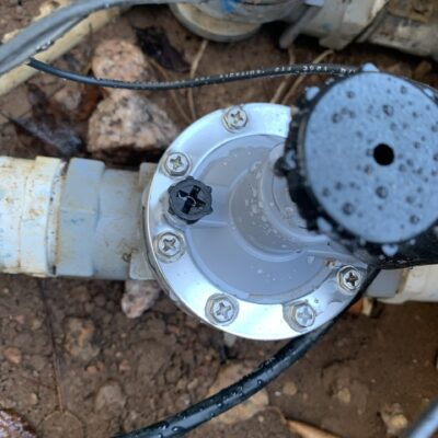 sprinkler and valve replacement