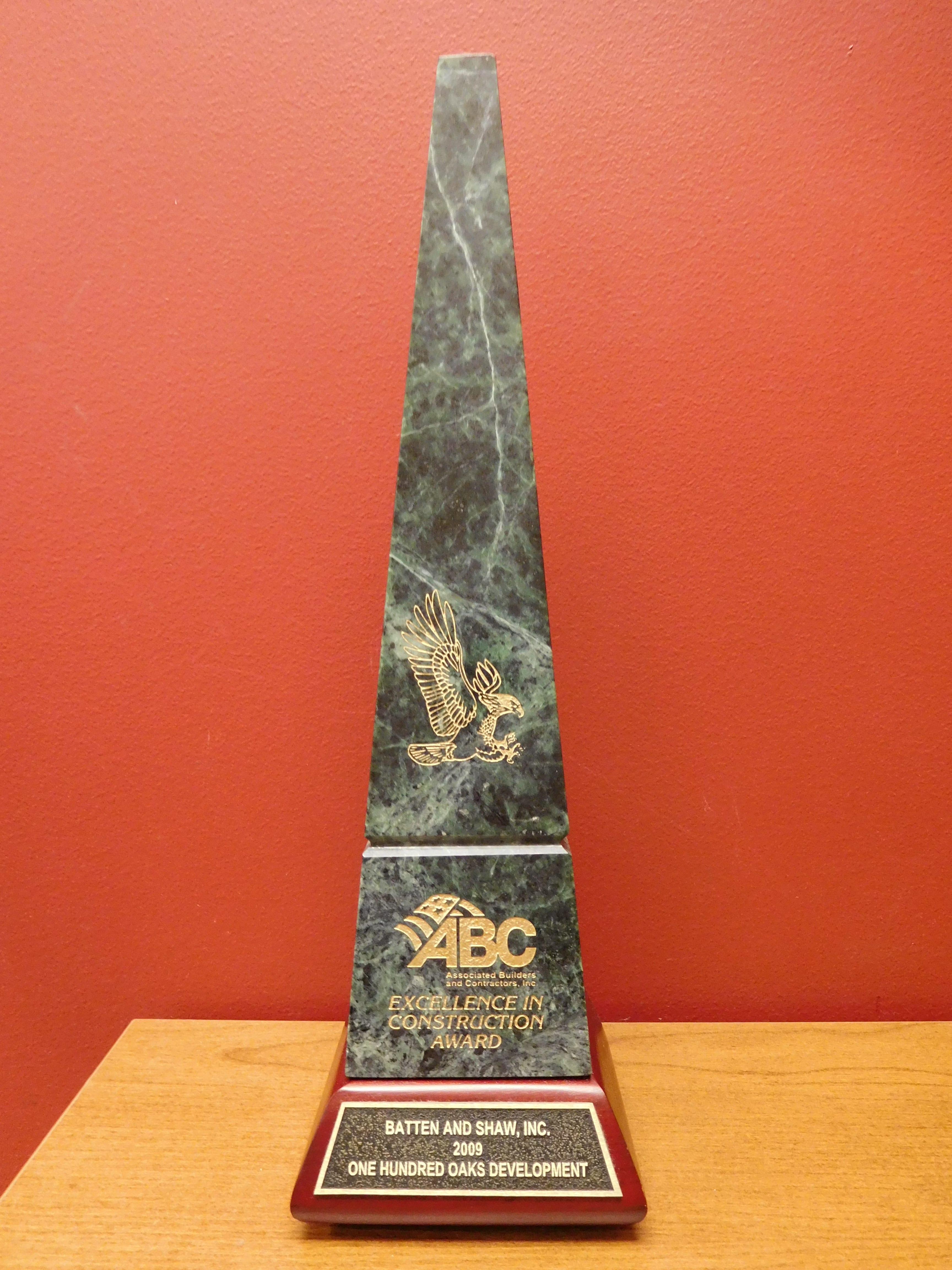 2009 ABC Award One Hundred Oaks Development
