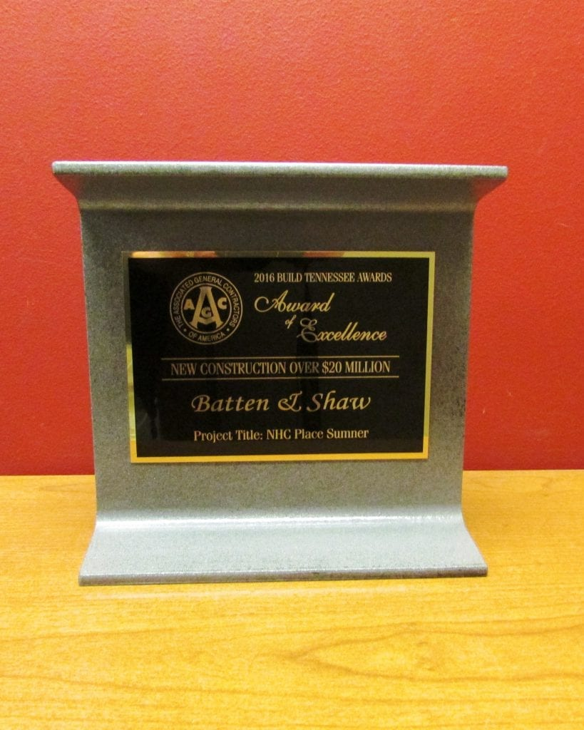 2016 AGC Build Tennessee Award – NHC Place Sumner