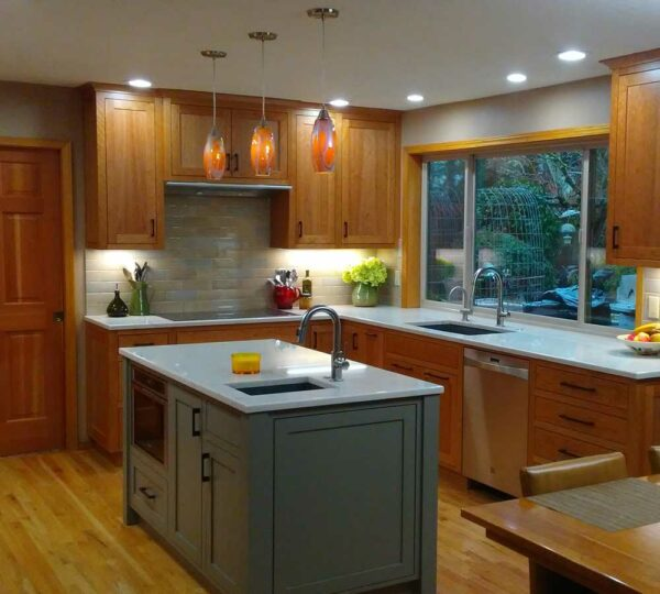 Beaverton Contemporary Kitchen Remodel