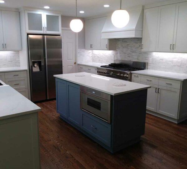 Lake Oswego Modern Kitchen Remodel