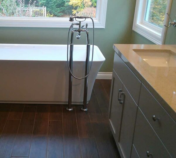 NW Portland Completed Master Bathroom