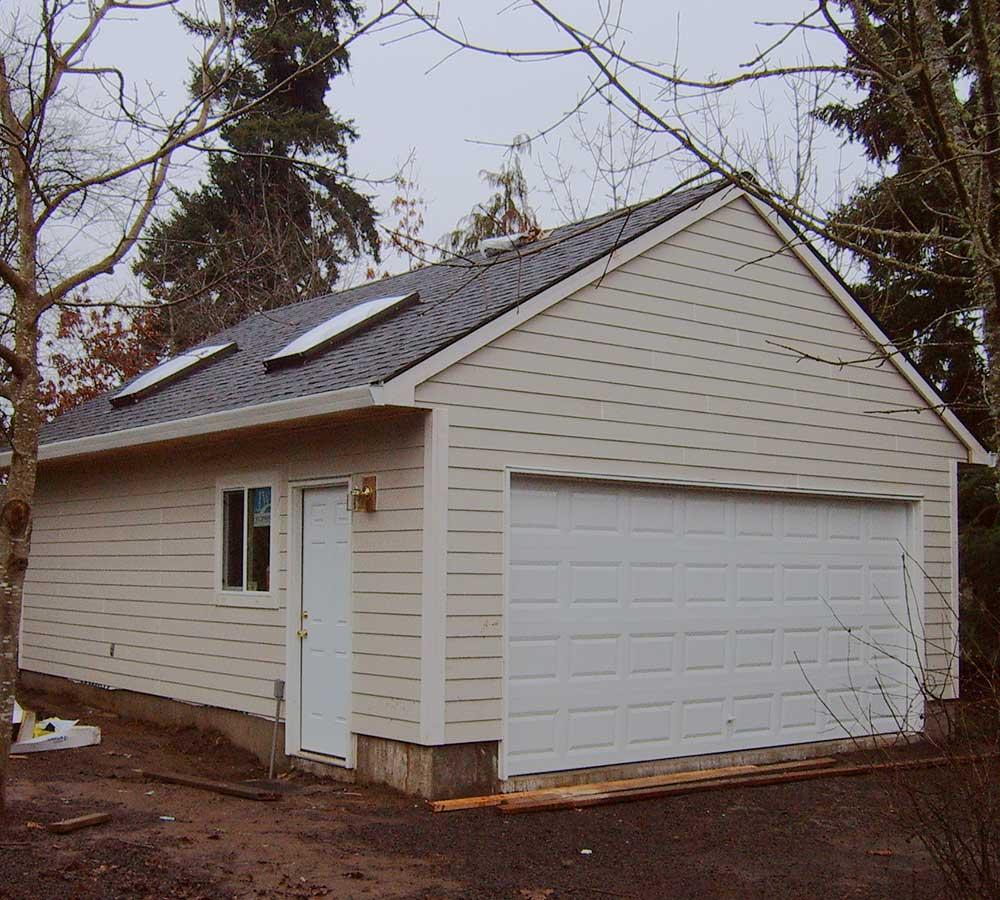 Addition of Detached Garage