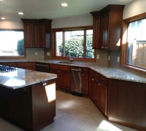 Kitchen Remodel with Contemporary Finishes