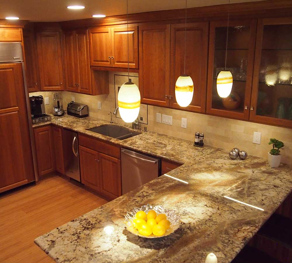 Kitchen Remodel with Granite Counters
