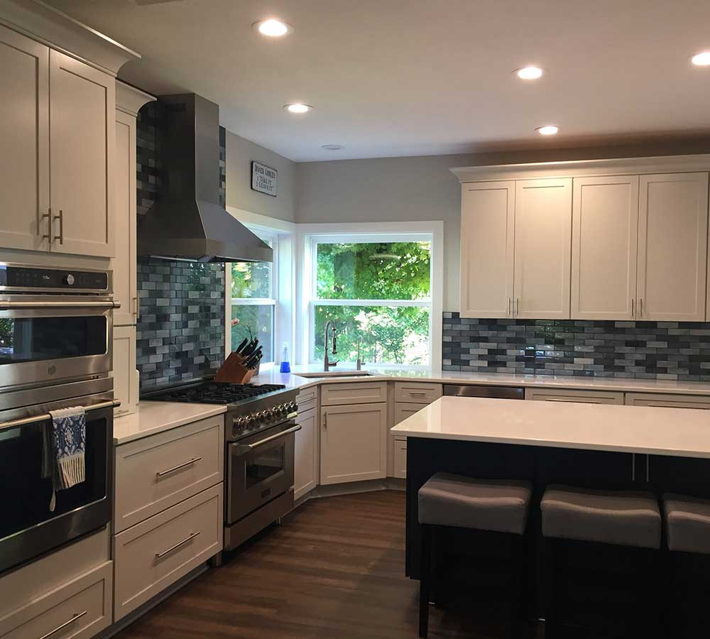 Kitchen Remodel with High End Finishes