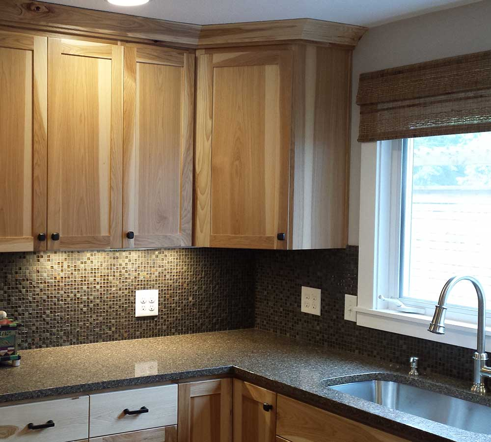 Kitchen Remodel with Hickory Cabinets