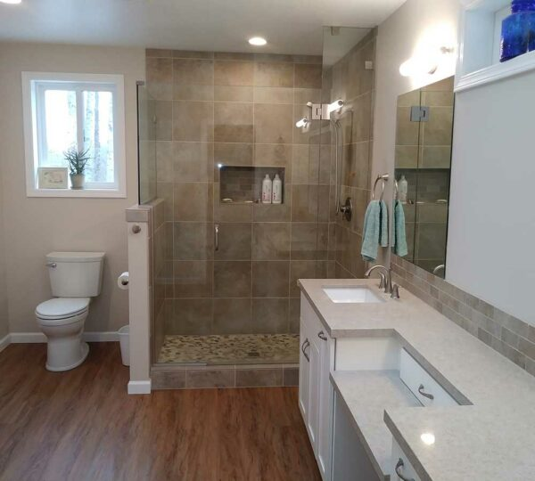 Bathroom Remodel Featured in Home Addition