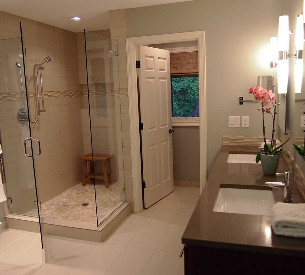 Bathroom Remodel with Contemporary Finishes