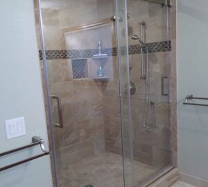 Bathroom Remodel with new shower