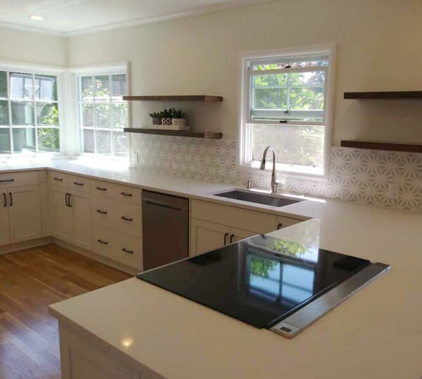 Kitchen Remodel with Transitional Design