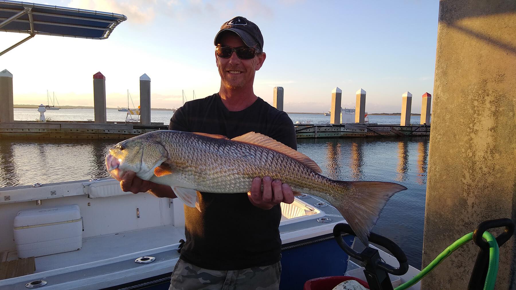 Amelia Island inshore fishing