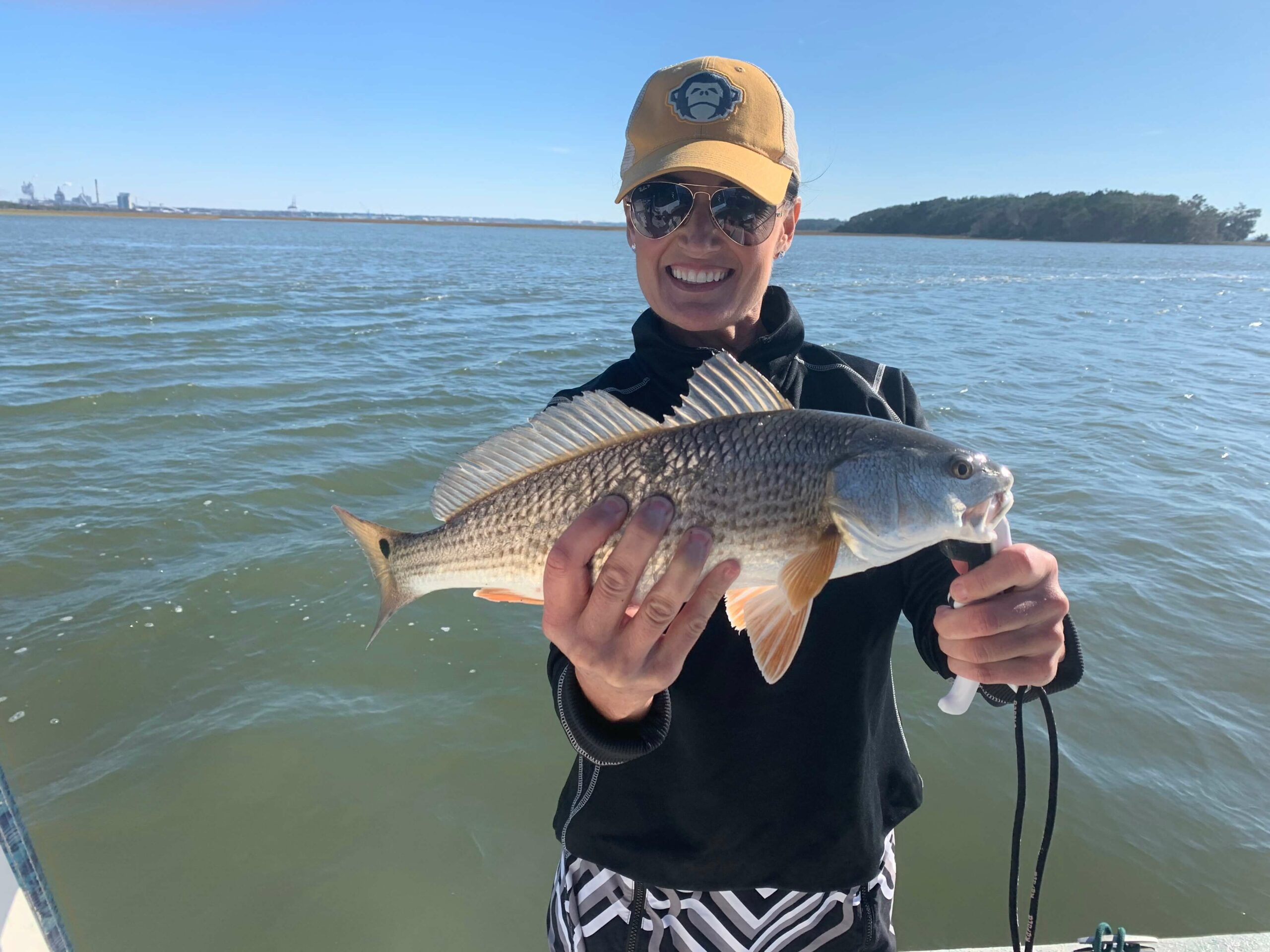 fishing charter in florida by lady