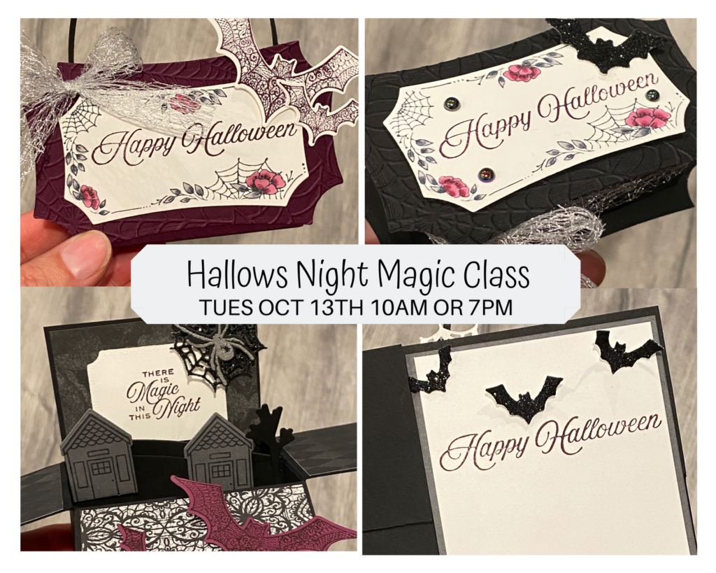 hallows night magic class