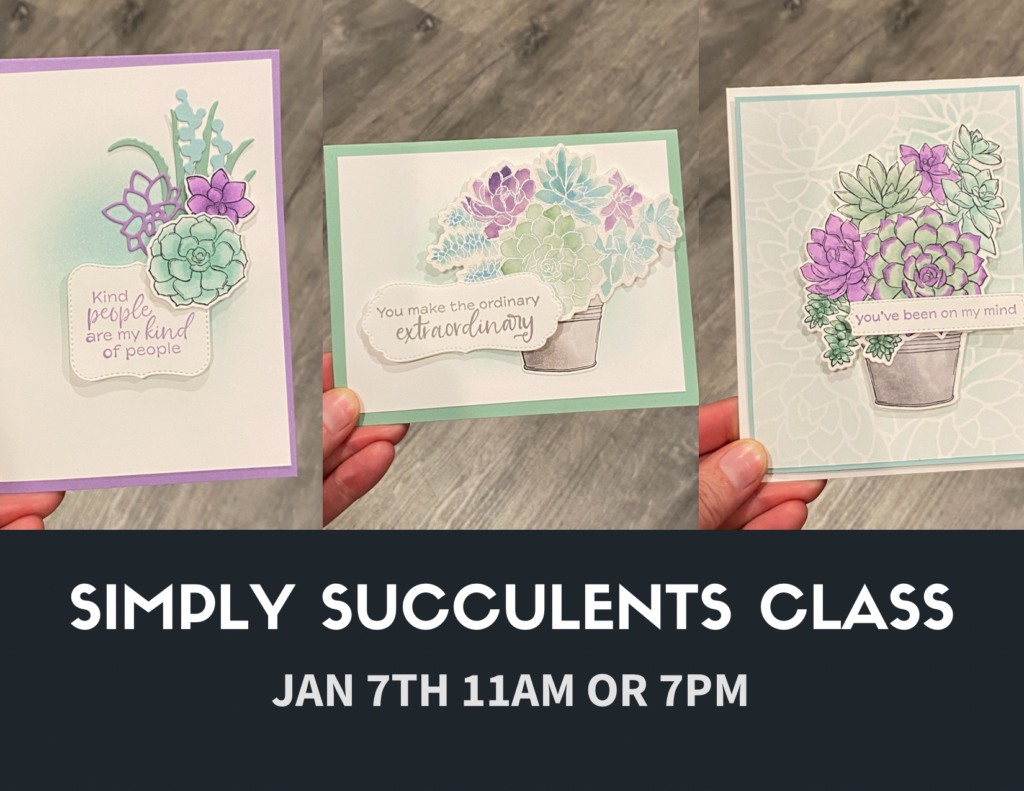 simply succulents class