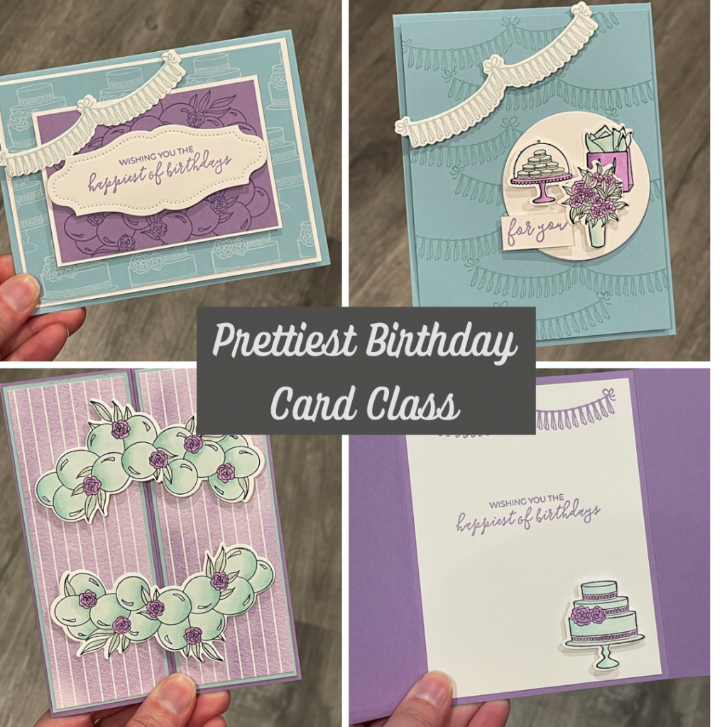 prettiest birthday card class