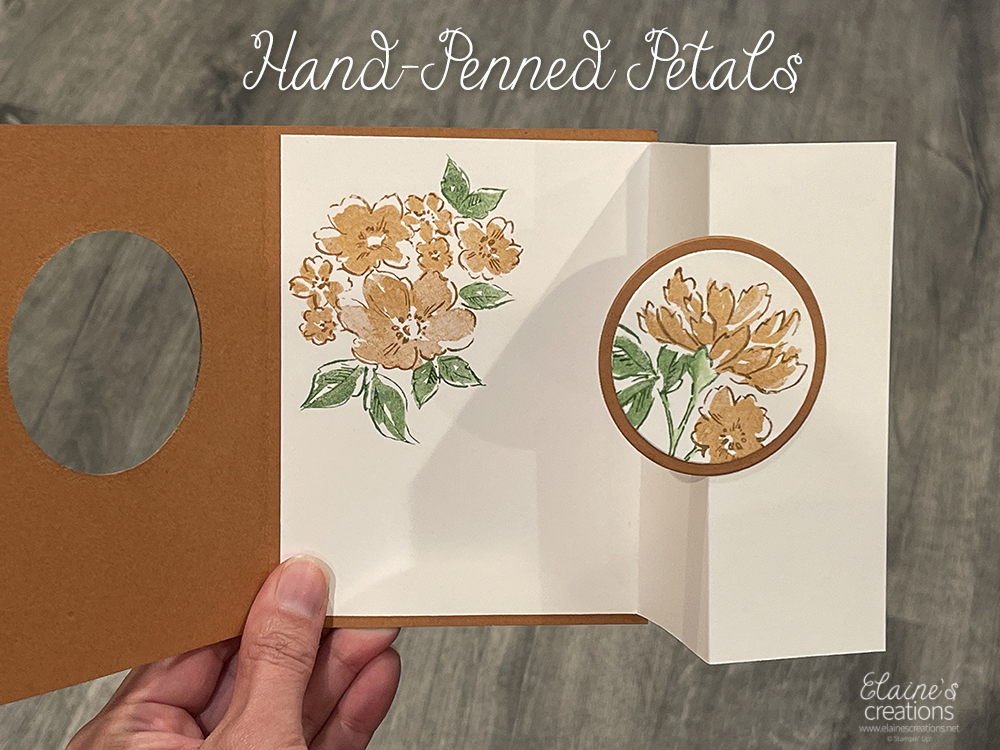 hand-penned petals