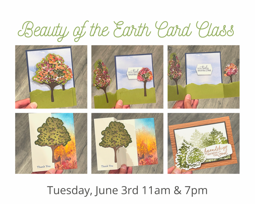 beauty of the earth card class