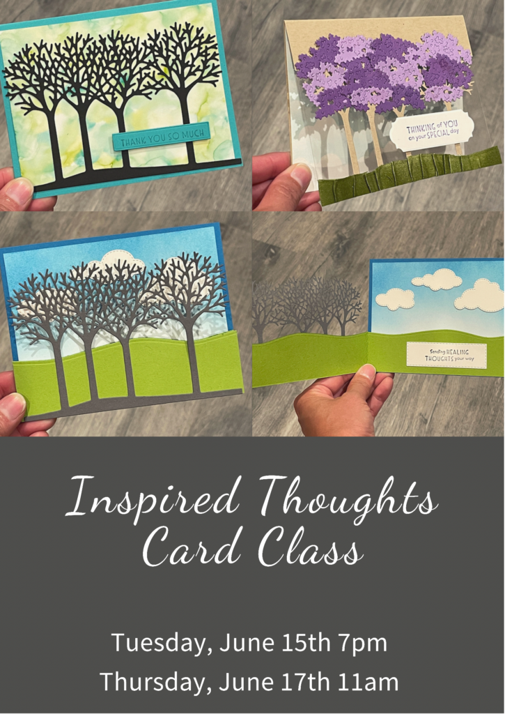 inspired thoughts card class