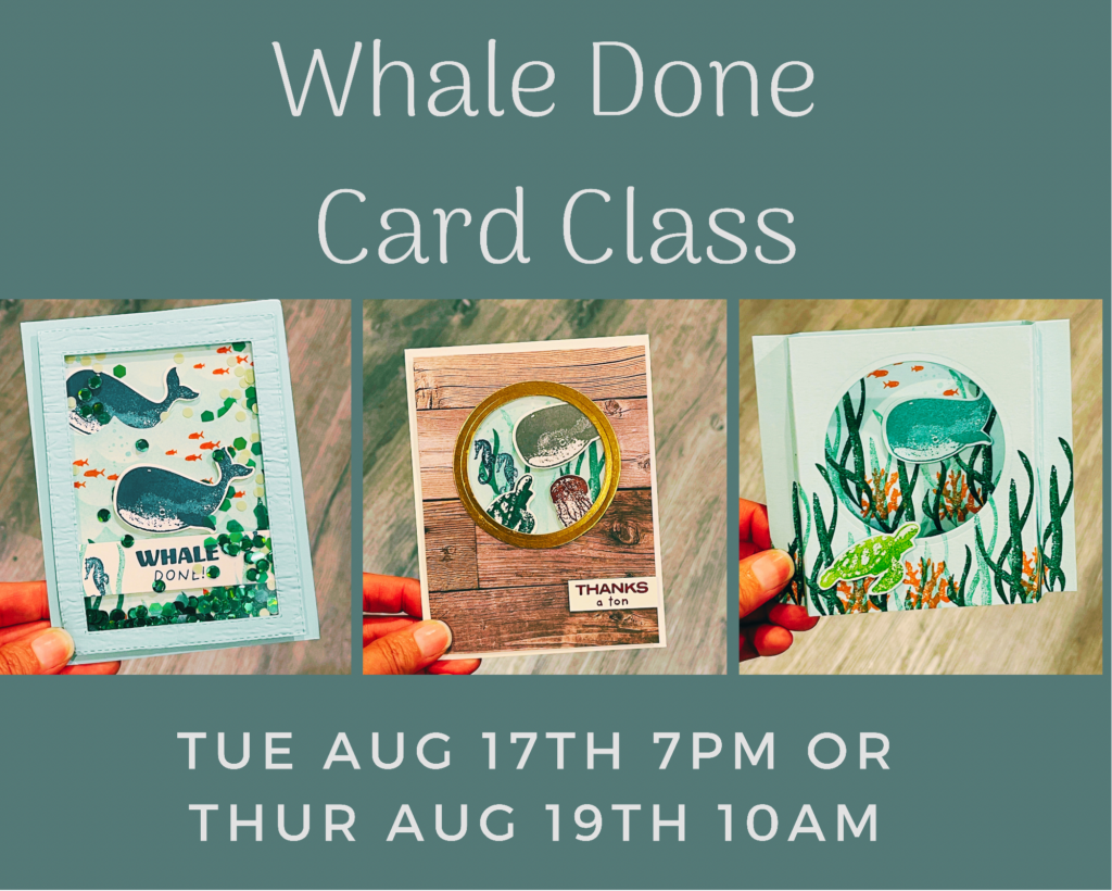 whale done class