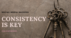 Consistency is key to social media success