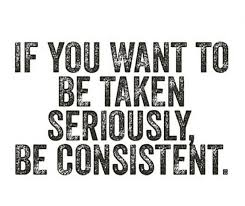 Be consistent on your social media profiles