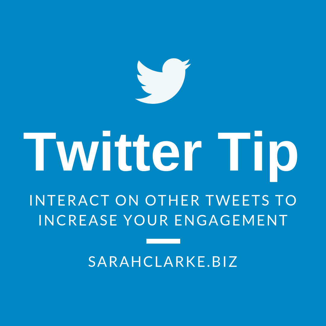 Twitter Tip Interact with other Tweets to Increase Engagement