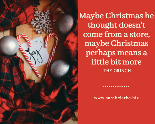 Christmas Quote the Grinch