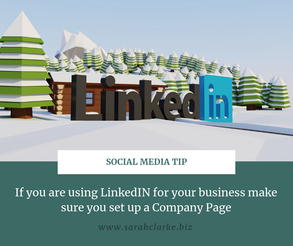 social media tip use linkedin Company Pages for B2B