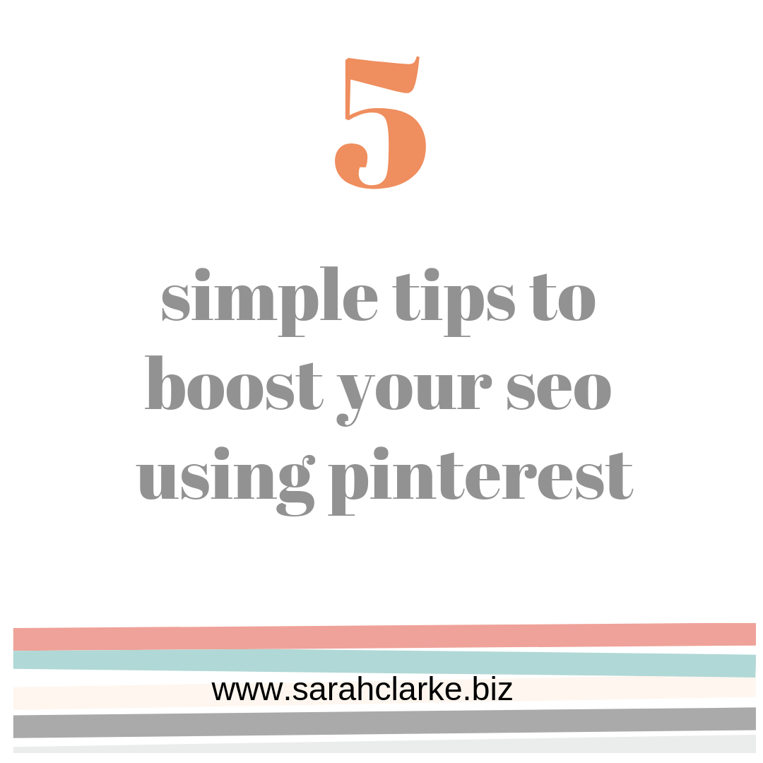 five simple tips to boost your seo using pinterest