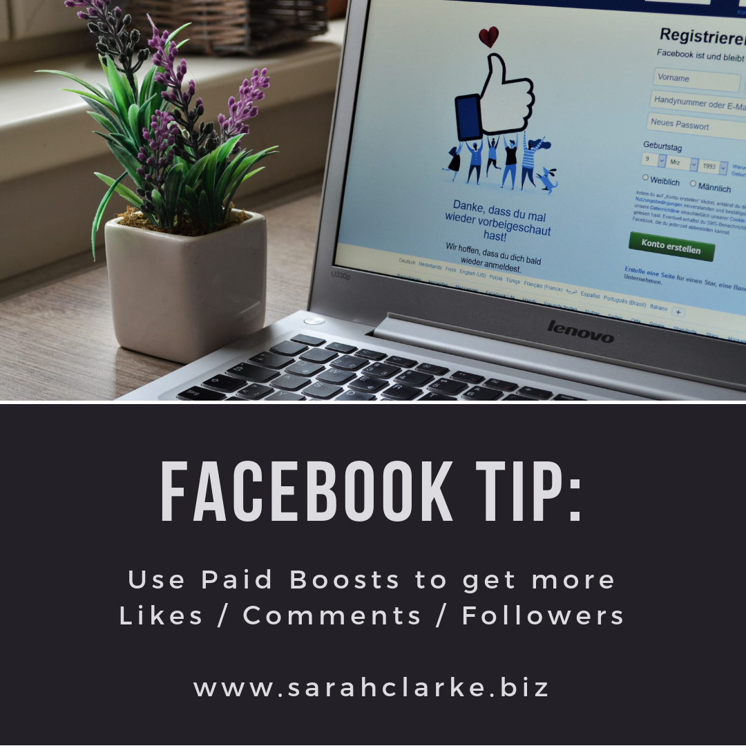 How to use Paid Boosts on Facebook for Better Results to your Page